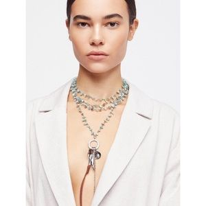 NWT Free People Mirage Layered Necklace